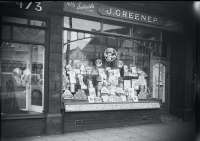J. Greenep Tobacco and Sweets, Shop Front