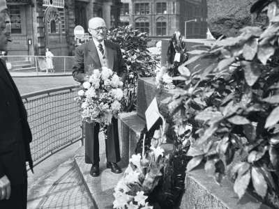 Image of Wreath laying