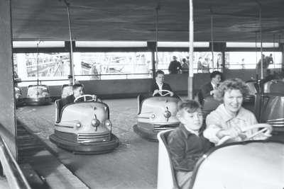 Blackpool, bumper cars
