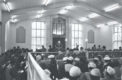 A Synagogue opening