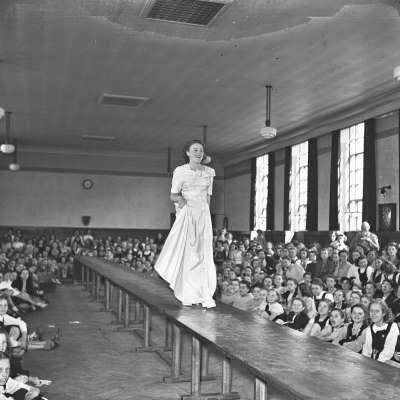 Broughton Secondary Modern Girls School, Fashion show
