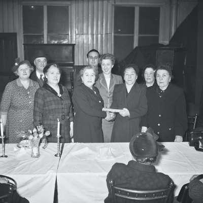 Group at award ceremony