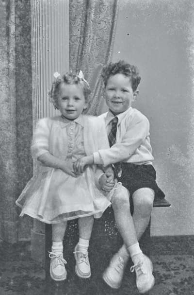Portrait of a boy and girl