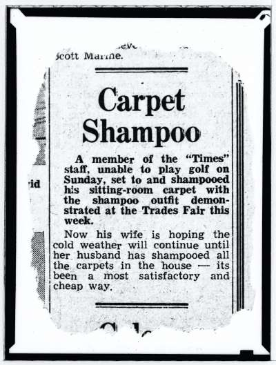 News paper story