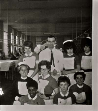 Portrait of a group of nurses