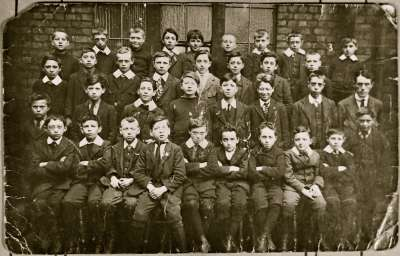 Boys school photograph