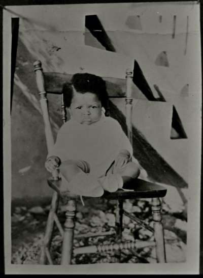 Portrait of a baby