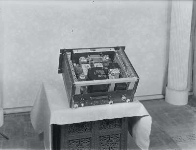 Electronic box interior