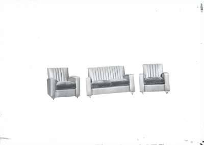 Chair and sofa