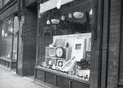 Homeware shop window