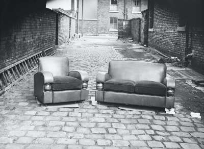 Settee and Armchair Suite In Street