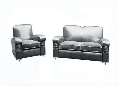 Settee and Armchair Suite