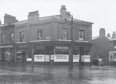 Waterloo Road street corner