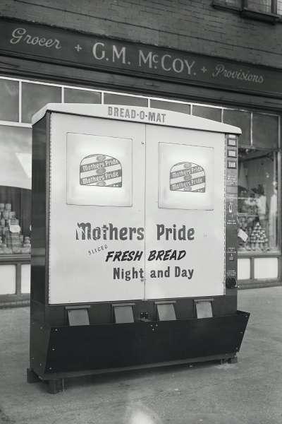 Bread-o-mat machine