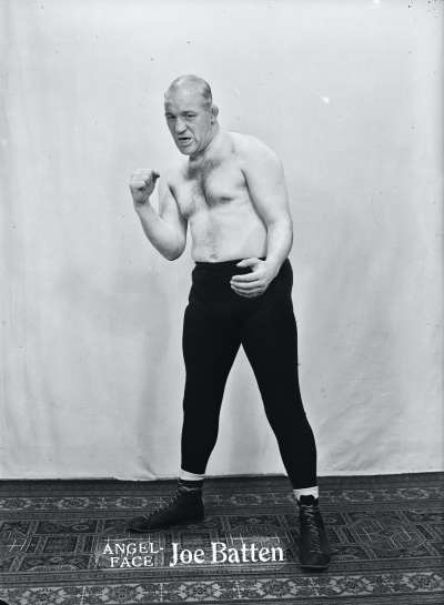 Portrait of a wrestler