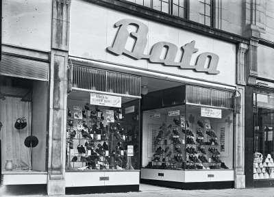 Bata Shoes Shop front