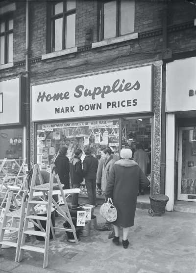 Home Supplies shop front