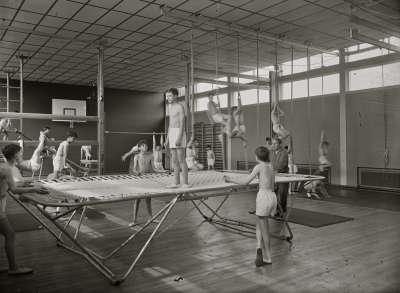 Salford Technical School, Gymnasium