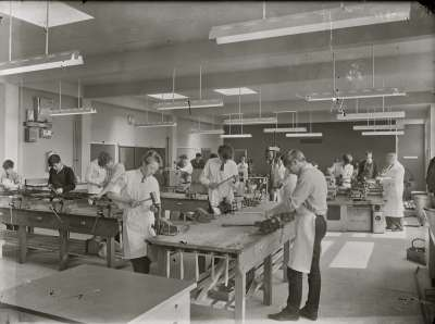 Salford Technical School, Class Room