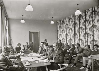 Salford Technical School, Staff Room
