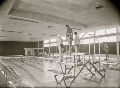 Salford Technical School, Swimming pool