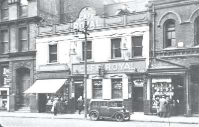 Café Royal front