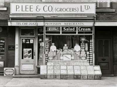 P. Lee Grocers shop