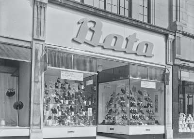 Bata Shoe shop front