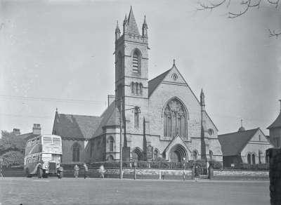 Trinity Church on Cheetham Hill Road, Halliwell Lane