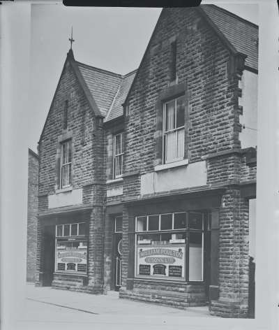 William Poulton & Sons Ltd shopfront
