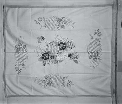 Embroidered textile