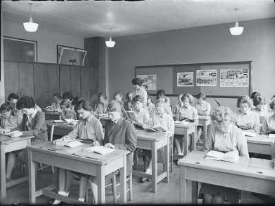 Ordsall High Class Room