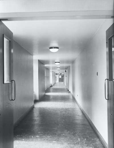 Ordsall High Hall way