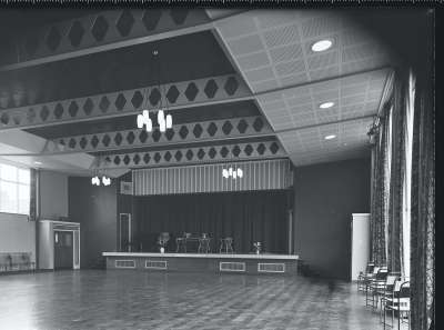 Ordsall High Assembly hall