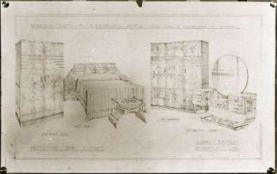 Bedroom Furniture illustration