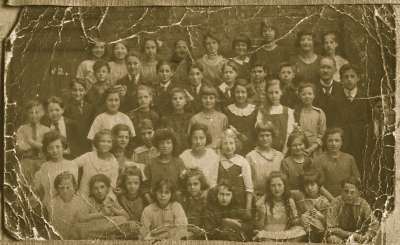Portrait of a group of children