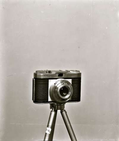 Photograph of camera on tripod