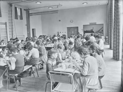 Fernhill School Dining room
