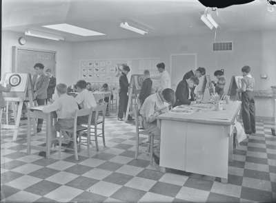 Fernhill School Classroom