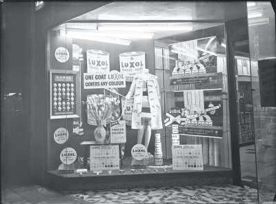 Luxol shop front