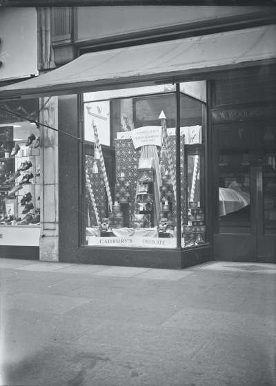 Exterior of Woolworths Shop