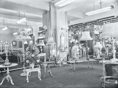 Furniture shop interior