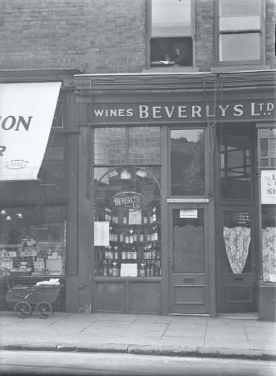 Beverly's Ltd Wines shopfront