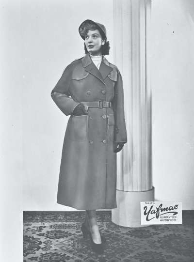 Raincoat promotional shot