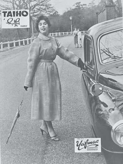 Raincoat promotional shot