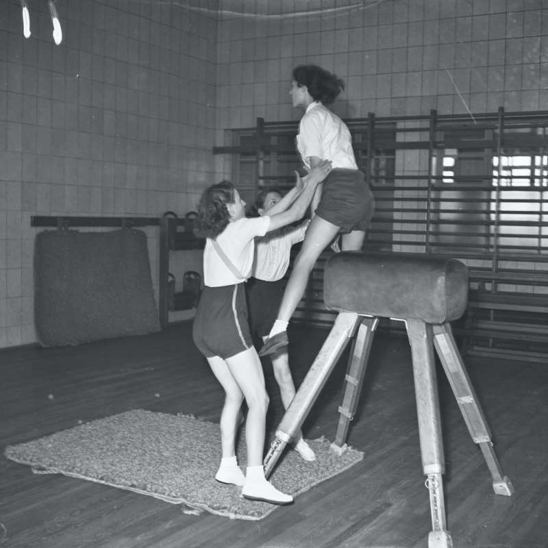 Broughton Modern Secondary School School gymnasium