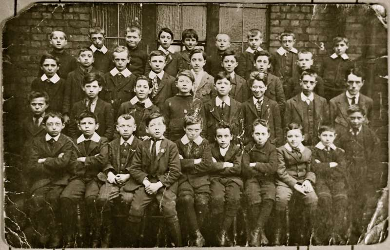 Boys school photograph