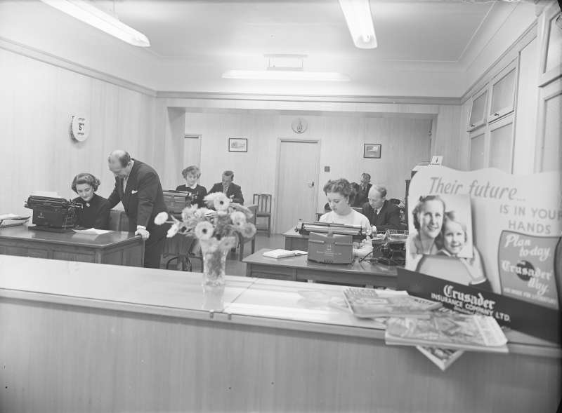Crusader Insurance, Pearl assurance 1956