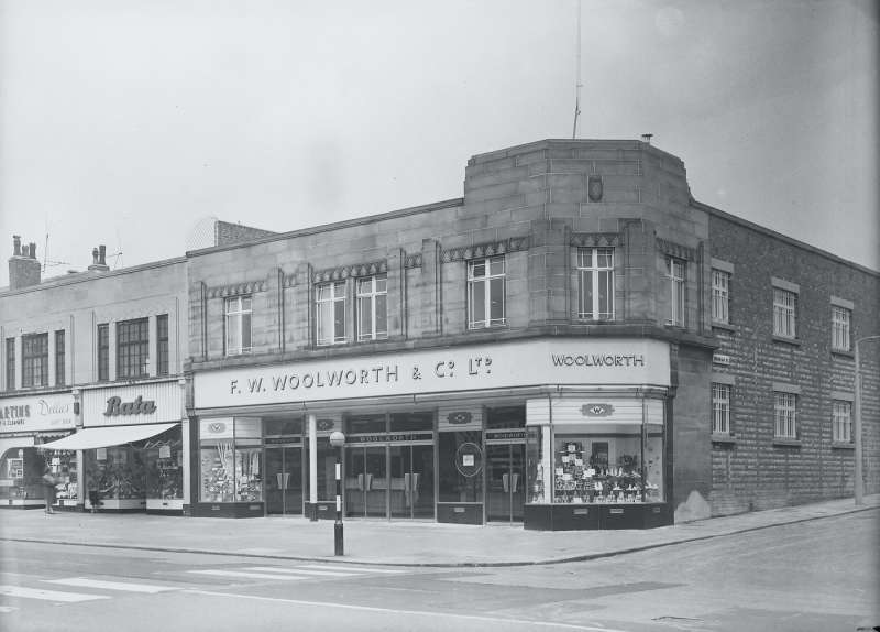 Woolworths shop front