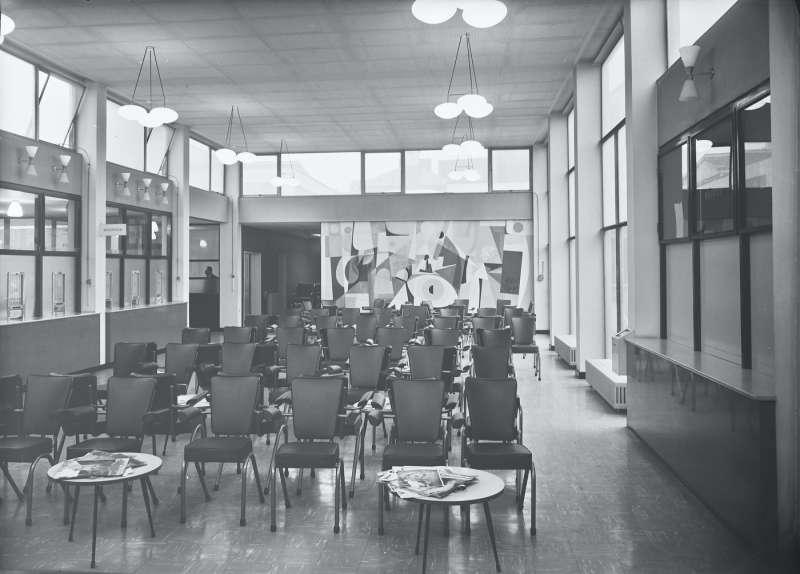 Hospital waiting area